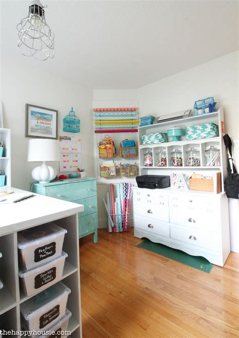 How To Organize A Craft Room Work Space  The Happy Housie. Discount Cake Decorating Supplies. Wooden Letter Wall Decor. Dining Room Table Decor. Bath Room Vanity. Rec Room Bar Plans. Safari Themed Living Room Decor. Cake Decorating Bags. Living Room Blinds