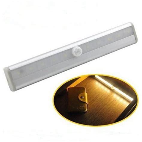 led pir motion sensor closet wardrobe cupboard cabinet