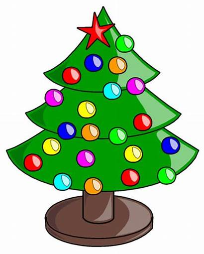 Clip Christmas Clipart Microsoft Tree Merry Cliparts