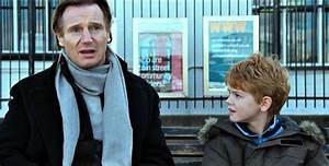 Liam Neeson has a joke with on-off love Freya St Johnston ...