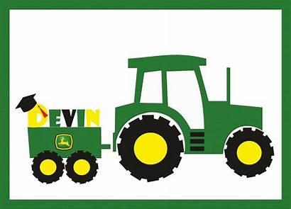 Deere John Clip Cliparts Clipart Designs Tractor
