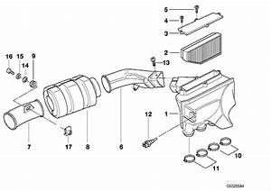 2000 Bmw K1200lt Intake Muffler  Cartridge