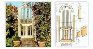 Wooden Garden Gates Plans • WoodArchivist