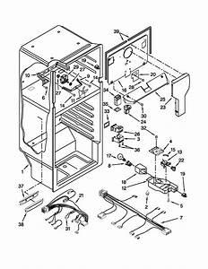Liner Parts Diagram  U0026 Parts List For Model W8rxngmbb00