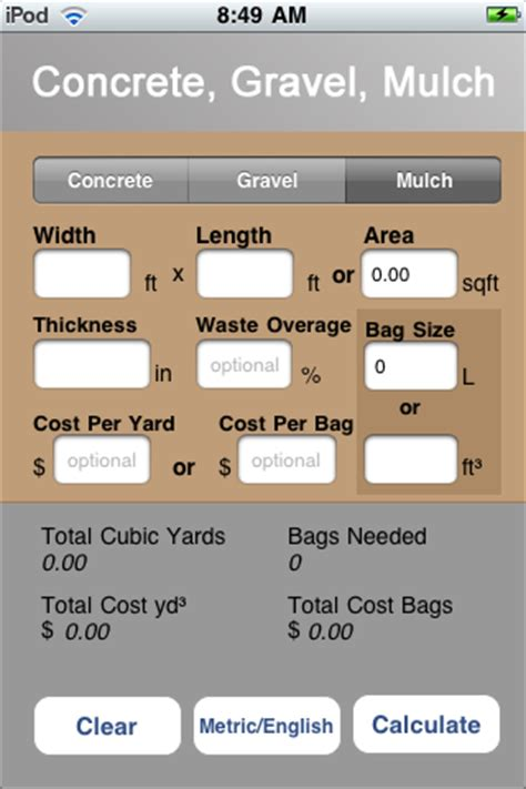 Sand Calculator Yards  28 Images  Decorative Gravel And