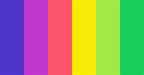 Flat Rainbow Color Scheme » Blue » SchemeColor.com