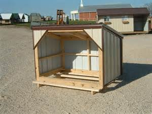 Small Portable Goat Shelter