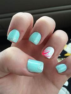Cute, summer acrylic nails | Nails | Pinterest | Acrylics ...
