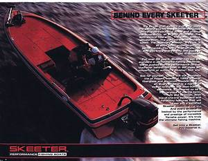 1999 Skeeter Fishing Boats Brochure