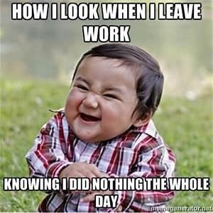 Leaving Work - 50 Best Memes Of 2013