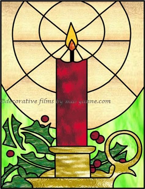 Stained Glass Window » Christmas Stained Glass Windows