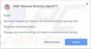 How To Get Rid Of Manuals Directory Search Browser