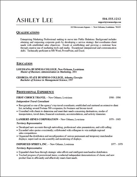 public relations sample resume public relations resume example sample public relations