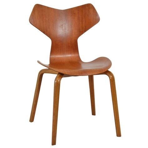 sheepskin chair arne jacobsen grand prix chair at 1stdibs
