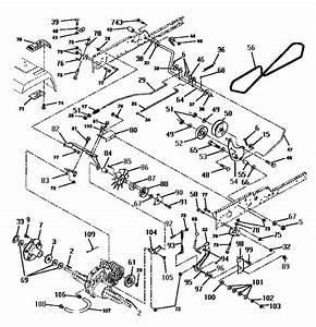 Craftsman Gt6000 Parts Diagram