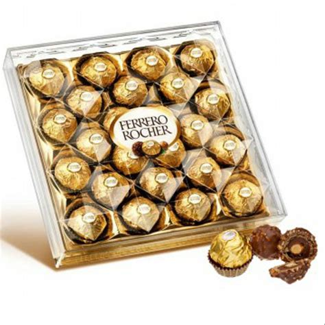 jual ferrero rocher  gr coklat import isi  pcs