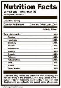 nutrition facts label nutrition facts template for With nutrition facts label template download