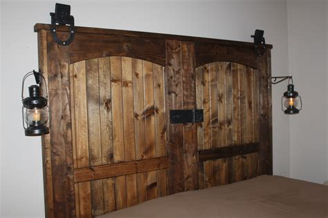 hanging bunk beds free plans at our completed quot quot barn door headboard