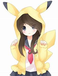 Girl In Pikachu Hoodie 2 By Hope Bases X3 by ...