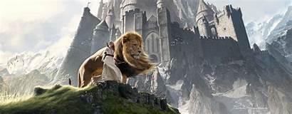 Narnia Lion Artwork Aslan Chronicles Susan 4k