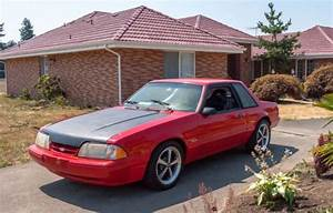 1987 Ford Mustang Lx Foxbody Notchback 5 0 For Sale