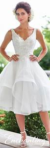 best white short wedding dresses ideas on pinterest short With white short wedding dress