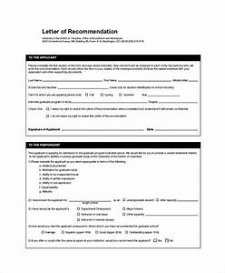 Sample Letter Of Recommendation For Graduate School Admission Free 45 Sample Letters Of Recommendation For Graduate