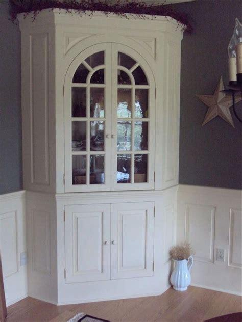 hand crafted corner hutch  wood connections llc custom