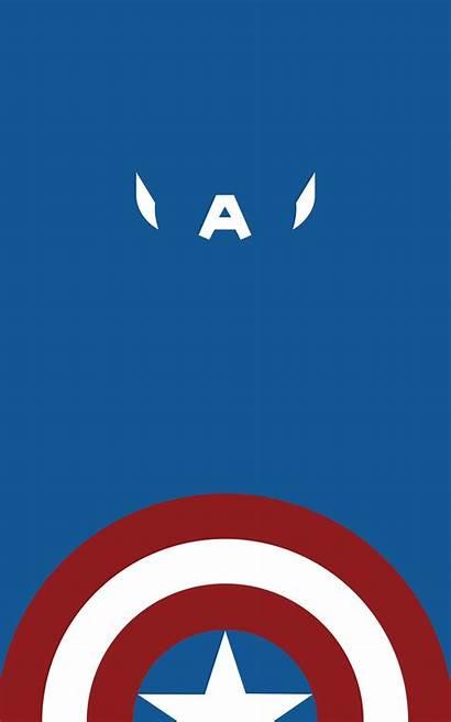 America Captain Marvel Portrait Comics Amerika Font