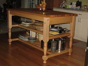 work table with wheels, Pull Out Table Kitchen Island
