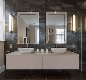38 bathroom mirror ideas to reflect your style freshome With kitchen cabinets lowes with 3d stadium view wall art