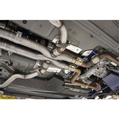 ford racing   mustang gt side exhaust quad system
