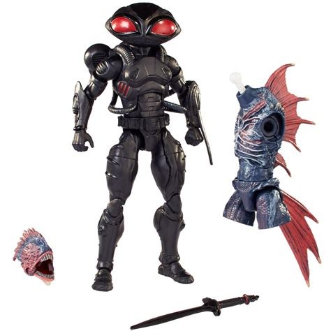 aquaman  dc multiverse black manta   scale