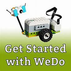 Get Started With Wedo  Lego Engineering