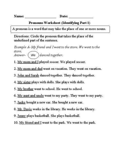 Englishlinxcom  Pronouns Worksheets  Englishlinxcom Board  Pinterest  Language, Pronoun