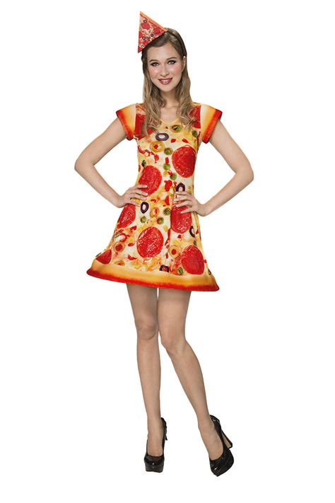 Pizza Costume For Dress-Up,Halloween,Theme Parties,Role ...