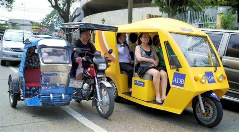 philippine tricycle design getting around metro manila safely philippine flight