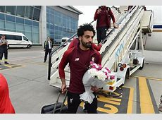 Champions League final Liverpool players arrive in Kiev