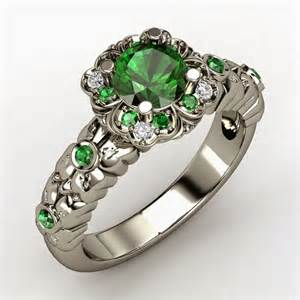 womens engagement rings s green wedding rings sterling silver model
