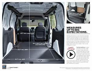 Image Result For Ford Transit Connect Interior Dimensions
