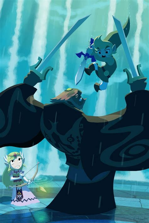 Wind Waker I Made The O Face With This Ending