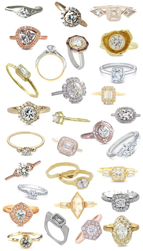 Here Are 30 Ethical Engagement Rings You Can Get Excited About. Table Wedding Rings. Camouflage Wedding Rings. Auburn Rings. 50p Coin Rings. Freshwater Pearl Wedding Rings. Color Accent Engagement Rings. Costume Rings. Thanos Rings