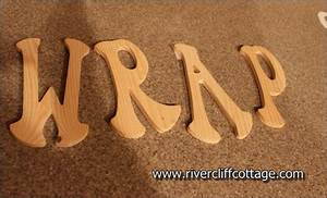 Wooden letters michaels levelings for Wooden alphabet letters michaels