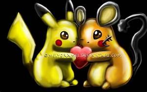 Pikachu and Dedenne by MelyoraMel on deviantART