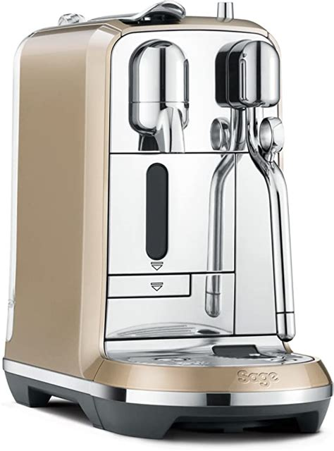 Just been serviced and comes with manual and new milk container. Nespresso Creatista Coffee Machine, Champagne by Sage: Amazon.co.uk: Kitchen & Home