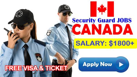 security guard in canada apply now