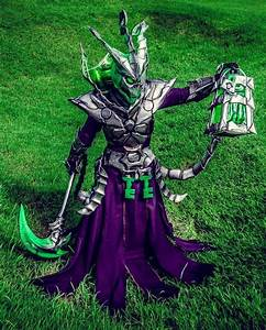 Thresh From League Of Legends by Darkgodmaru | Video Games ...