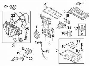 Mercury Milan Engine Intake Manifold  2 3 Liter  Focus