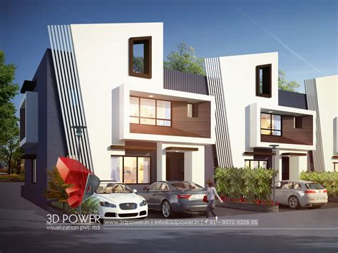 Exterior Design Rendering  3d Power
