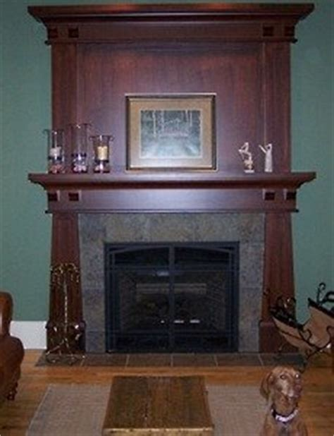 craftsman fireplace  standout fire space
